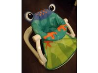 Fisher-Price Frog Baby Sit and Play Chair
