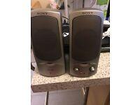 Sony SRS-A37 Mega Bass Speakers