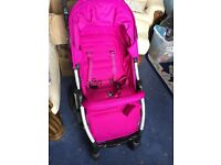 NEW- Mamas and Papas Luna hot pink pushchair (new inbox)