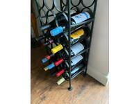 Home Wine Storage : Metal Wine Rack