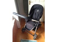 Icandy cherry pushchair, adapters and maxi cosi isofix base