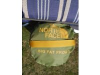 North Face Big Fat Frog 2 PersonTent. Never Used.