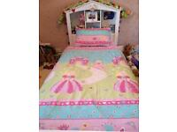 Girls Single Bed with pull Storage Drawer