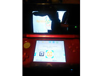3ds with cracked top screen, for spares/repair