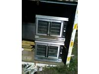 Industrial gas ovens