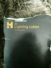 Lighting cubes (igniter/barbecue)