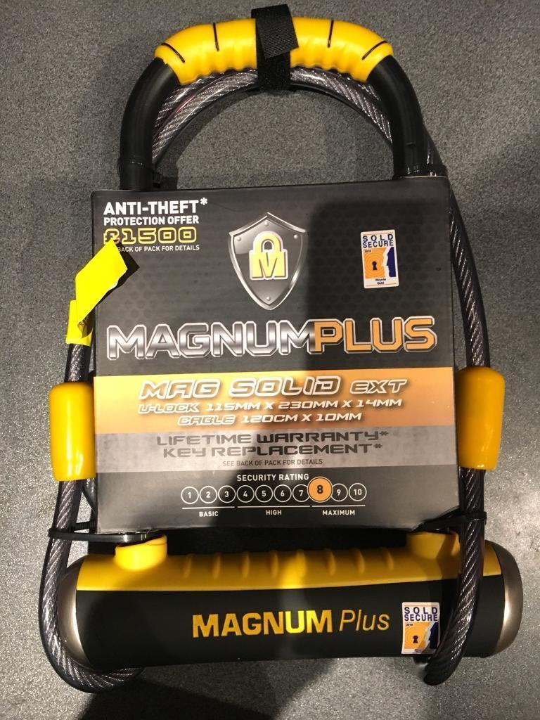 Magnum Plus Mag Solid Bike Lock