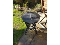 Cast iron Outdoor Garden Decorative Sundial