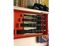 Facom chisel set brand new