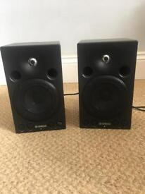 Yamaha MSP3 Active 2 Way studio monitors x 2