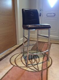 4 x chrome Stools (need recovered)