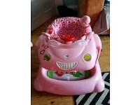 Mothercare 2 in 1 car walker.