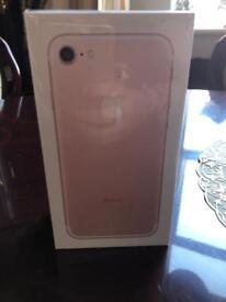 iPhone 7 32 unlocked. Rose gold