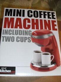 MINI COFFEE MACHINE (New & Boxed)