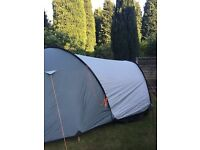 6 Person Tent, 2 Person Tent + Camping Equipment