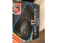 Sega mega cd ll and mega drive