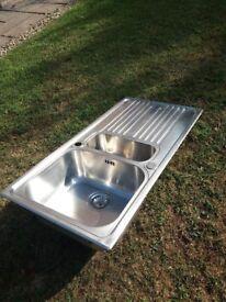 Kitchen sink and waste kit