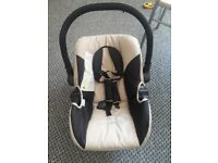 Baby car seat - used but in very good condition. Smoke free house