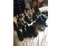 Job lot of size 5 heels/wedges all brand new