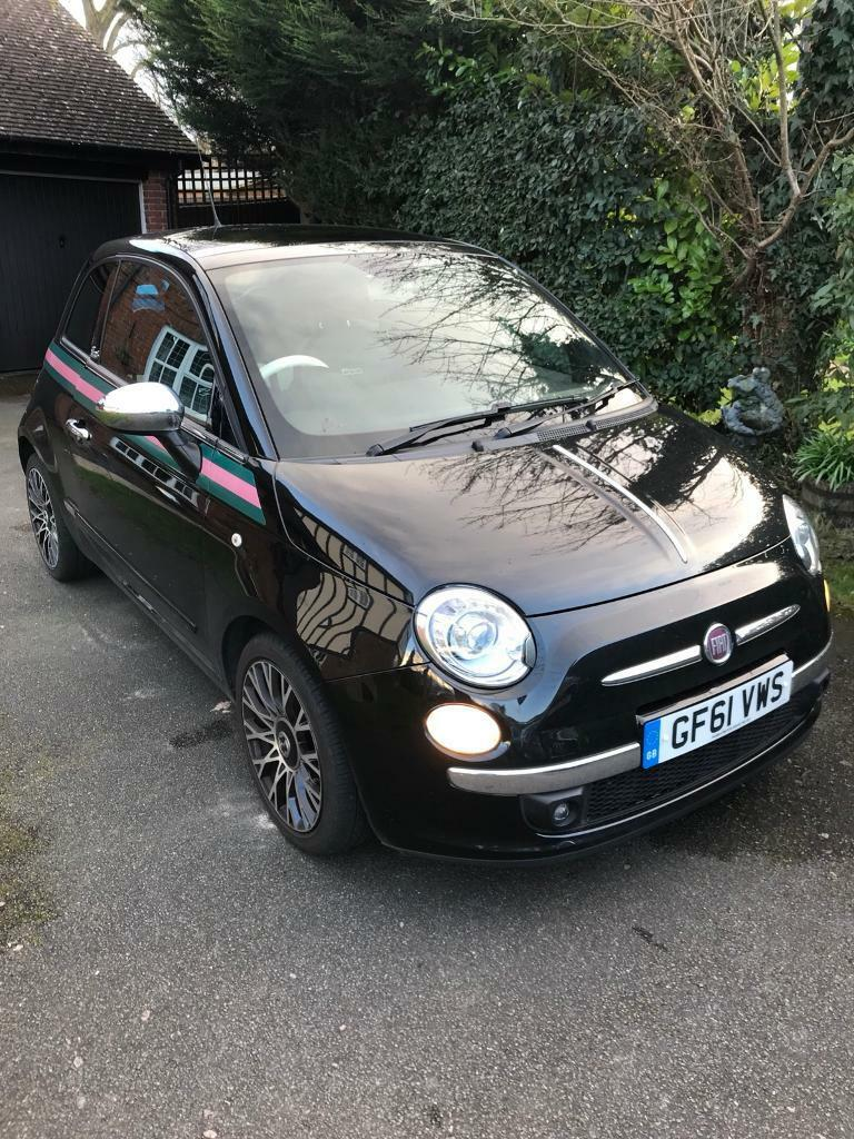 fiat 500 gucci in aylesford kent gumtree. Black Bedroom Furniture Sets. Home Design Ideas