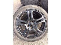 "Subaru Impreza Alloy Wheel Black 17"" WRX FREE DELIVERY"