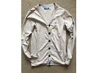 Mens Adidas cotton cardigan (clothes)