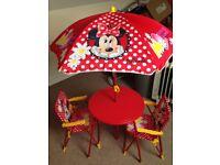 Minnie Mouse Garden Set