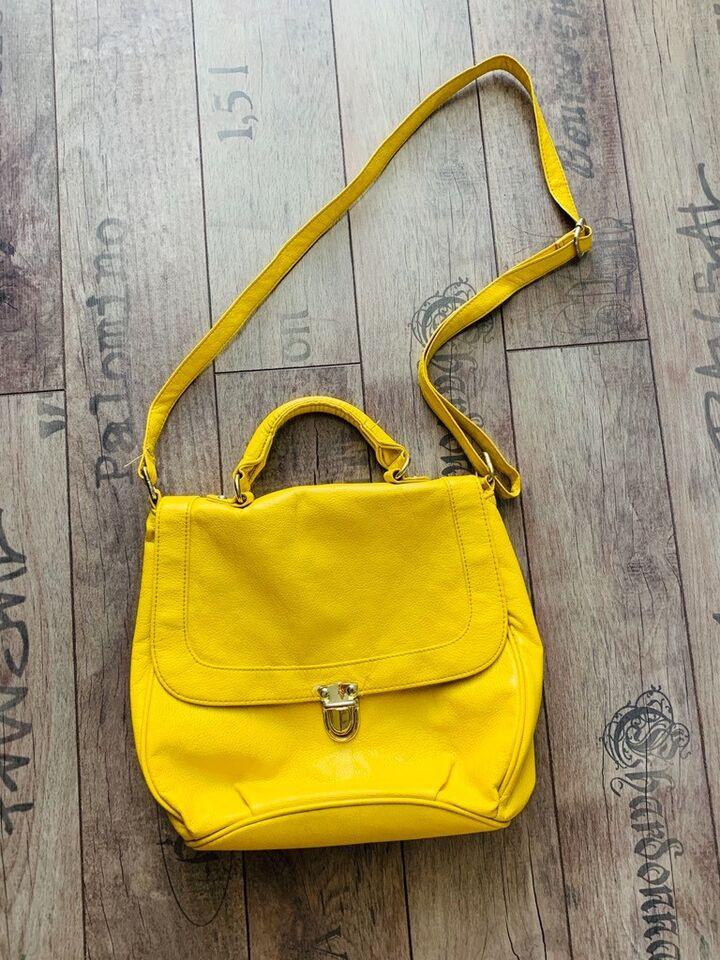 4 x Handtasche gelb pink schwarz beige in Weifa