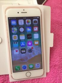 Very Good Condition iPhone 6s In Rose Colour 64GB All Networks