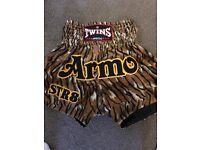Twins size large tiger print shorts (Thai boxing)