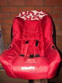 Cossato car seat