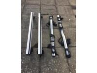 Thule ProRide 598/Roof bars/Footpads