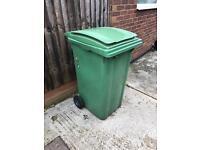 Large wheelie bin