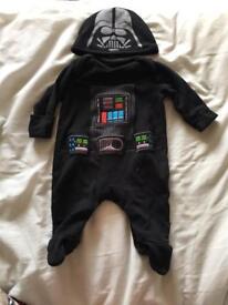 Darth Vader onesie with hat
