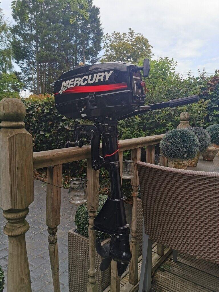 Mercury 2 5 HP Two stroke outboard | in Billericay, Essex | Gumtree
