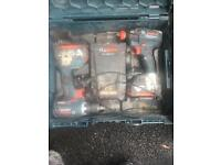 Bosch 18v drill and impact driver set