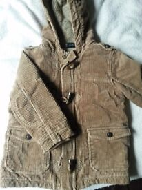 Boys Next winter jacket. 2-3 years.
