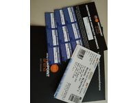 3 Michael Mcintyre tickets.