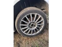 FORD FOCUS ST170 ALLOY WHEEL BREAKING SPARES PARTS CHELMSFORD ESSEX LONDON