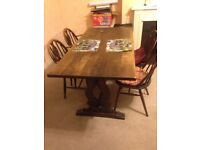 Dining Table and 4 Chairs Good Condition £20 ONO