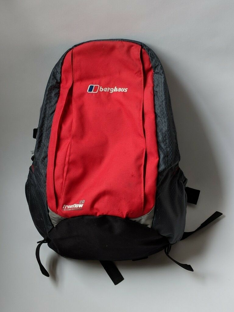 Berghaus freeflow 20 Red Backpack Rucksack £20   in North West ... 642104e5cd