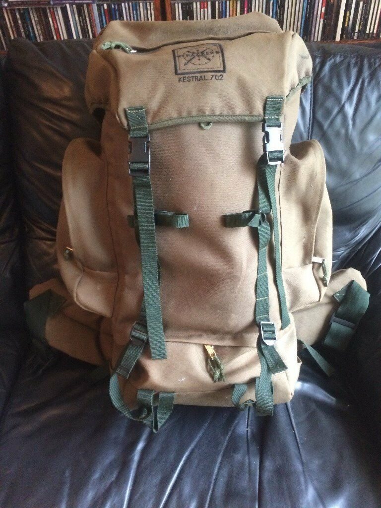 Tracker Kestral 702 (very large capacity) Hiking/Camping Backpack