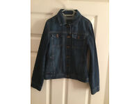 GAP Girls Dark Washed Denim Jacket