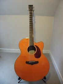 Tanglewood Evolution Viscount TSJ V3 Electro Acoustic Guitar