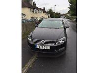 Volkswagen Passat Black 2012