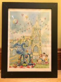 2 Wallace and Gromit Framed Prints