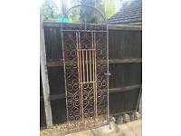 Heavy Duty Iron Gate Ideal For Refurbishment or Restoration Project