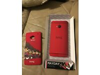 BNIB HTC One M7 Mayday Protective Case Paypal accept