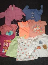 Girls bundle 9 to 12 months