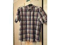 Men's medium check shirt Debenhams Maine